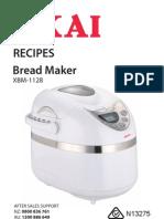 Xbm1128+Bread+Maker+Akai Recipes