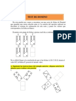 Psicotecnico Test Domino
