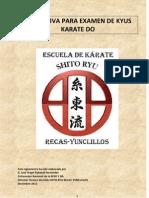 Normativa Kyus Club Karate Shito Ryu Recas-yunclillos