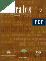 Revista Umbrales9. Revista Del Postgrado en Ciencias Del Desarrollo CIDES UMSA. La Paz Bolivia