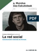 Unitate didaktikoa La red social (euskera)