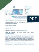 Ingeniería Ambiental perfil por competencias