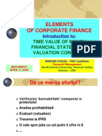 Elements of Corporate Finance