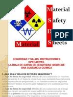 Presentación MSDS