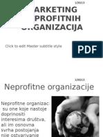 marketing neprofitnih organizacija