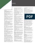 glossary fundamentals in nursing