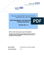 Nasogastric Gastrostomy Tube Feedling Guidelines v1.4