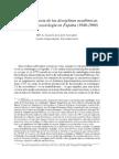 Historia de la sociología en España