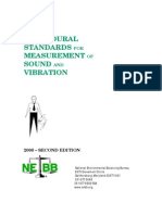 NEBB Sound Vibration Measurment