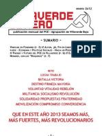 Villaverde Obrero - Número 19 - Enero 2o13