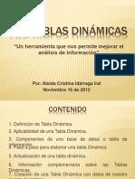 Tablas Dinámicas (2012-11-16)