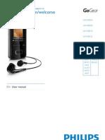 Philips GoGEAR MP4 player SA3VBE08K ViBE
