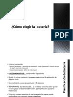 Eleccion de Bateria A