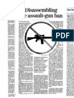 Chris Koper Baltimore Sun Op-Ed on Assault Weapons