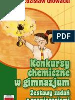 TUTOR Konkursy chemiczne w gimnazjum Zdzisław Głowacki fragmenty