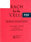 Bach for the Cello - Ten Pieces in the First Position.pdf
