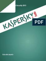 Manual Kaspersky 2013