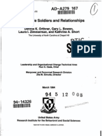 Young Single Soldiers and Relationships