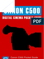 Canon C500 Mobile Pocket Guide 1.1