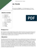 Mittelhochdeutsche Metrik – Wikipedia