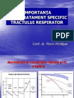 Conf. Dr. Florin Mihaltan - Importanta Unui Tratament Antiinflamator Specific Tractului Respirato