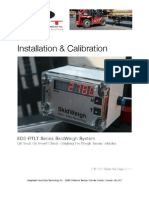 Lift truck weighing systems for truck/trailer mounted vehicles