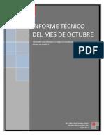 Seguridad Aliemtaria Nutricional Informe Mes Octubre 2012 Comussan