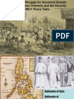Moro Ancestral Domain