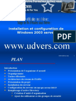 Installation Et Configuration de Windows 2003 Server