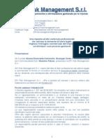 231 Risk Management S.r.l. - Presentazione