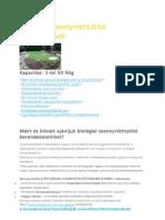 Biológiai szennyvíztisztító berendezések