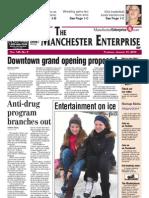 Manchester Enterprise front page Jan. 31, 2013