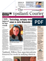 Ypsilanti Courier front page Jan. 31, 2013