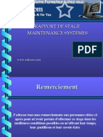 Maintenance Systemes