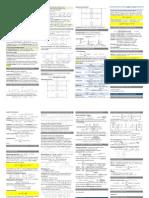 Zusammenfassung Zeit-Diskrete und Statistische Signalverarbeitung