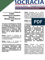 Barómetro Legislativo Diario del miércoles, 30 de enero de 2013.pdf