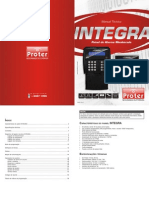 01(PrВvia) Manual TВcnico Painel de Alarme Integra - Rev.0