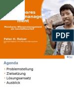 Messbares Knowledge Management Presentation