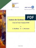 Cours SystAmes mAcaniques TC ENIM