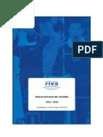 Reglamento oficial FIVB 2013-2016