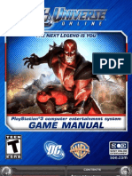 Dcuo Manual Ps3