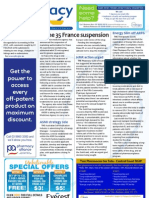 Pharmacy Daily for Thu 31 Jan 2013 - Diane suspension, HMR action, ASMI, compounding and much more