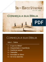 Conheca Sua Biblia