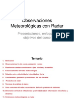 Radar Precipitacion