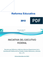 Analisis Reforma Educativa