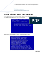 Intalacion Windows Server