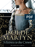 Mistress to the Crown by Isolde Martyn - Chapter Sampler