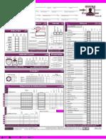 3.5 D&D Character Sheet