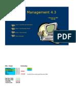 Budget Management 4.3