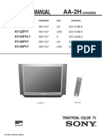 Trinitron Color TV Sony Service Manual